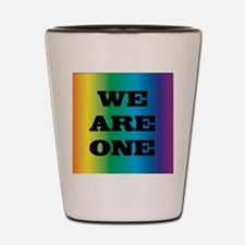 We Are One XXV Shot Glass
