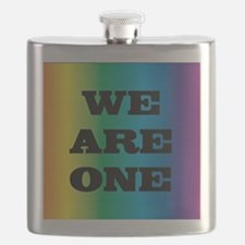 We Are One XXV Flask
