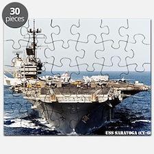 saratoga cv framed panel print Puzzle