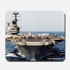 saratoga cva rectangle magnet Mousepad