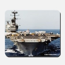saratoga cv rectangle magnet Mousepad