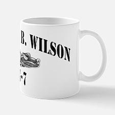 hbwilson black letters Mug