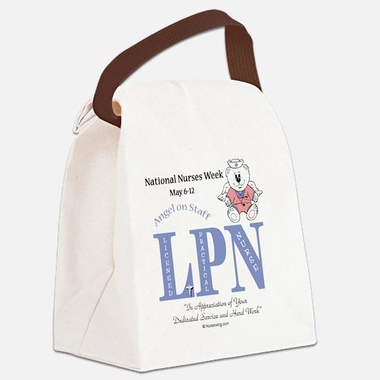 LPNrw-AOS-fem Canvas Lunch Bag