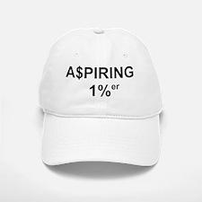 Aspring1p_black+clear Baseball Baseball Cap