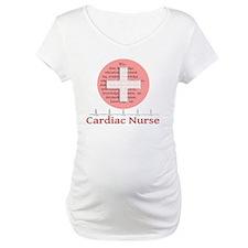 Cardiac Nurse Salmon circle Shirt
