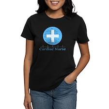 Cardiac Nurse Blue Circle Tee