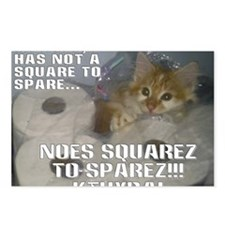 noes squarez Postcards (Package of 8)