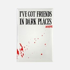 Dark Places Journal Rectangle Magnet