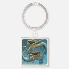 siren sisters for prints Square Keychain