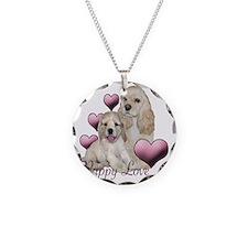 puppy love cocker Necklace