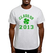 Class Of 2013 - Shamrock LT Green 2  T-Shirt