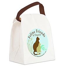 FelineFriends_Logo_sml_trans_CMYK Canvas Lunch Bag