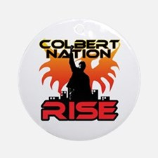 Nation Rise Ornament (Round)