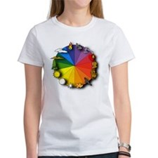 Color Wheel Tee