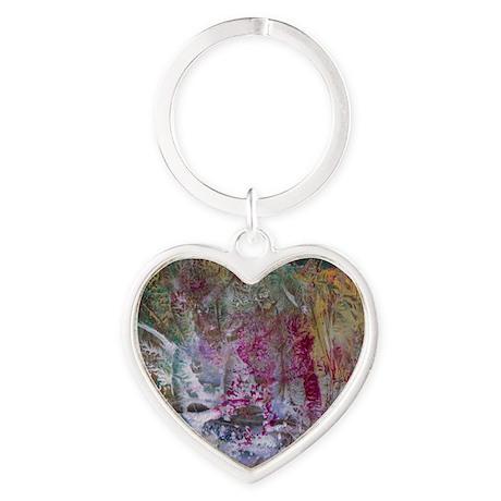 Wild Woods Heart Keychain