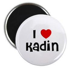 """I * Kadin 2.25"""" Magnet (10 pack)"""