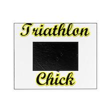 Triathlon Chick Picture Frame