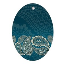 Paisley-iPad2 01 Oval Ornament