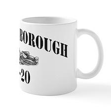 goldsborough black letters Mug