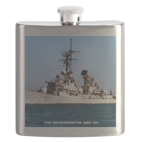 goldsborough framed panel print Flask