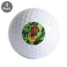 Monarch Butterfly2 Golf Ball