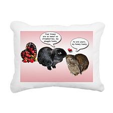VA002-ValentinesDayCard- Rectangular Canvas Pillow