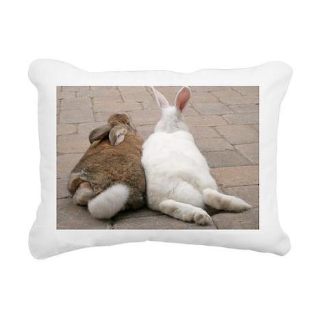 VA006-IzzyOzzyButts Rectangular Canvas Pillow