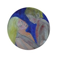 "romance novel 3.5"" Button"