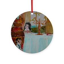 Jewish Round Ornament