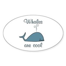Whales are Cool Decal