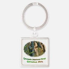 rock formation Square Keychain
