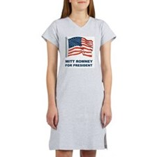 MITT ROMNEY for presidentL Women's Nightshirt