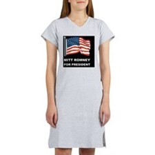 MITT ROMNEY for president dBUTT Women's Nightshirt