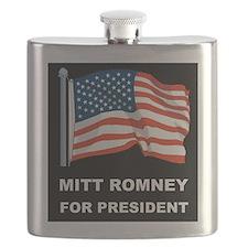 MITT ROMNEY for president d Flask