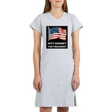 MITT ROMNEY for president d Women's Nightshirt