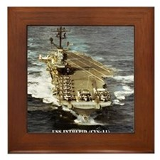 intrepid cvs calendar Framed Tile
