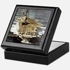 intrepid cvs framed panel print Keepsake Box
