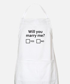Well will you? Apron
