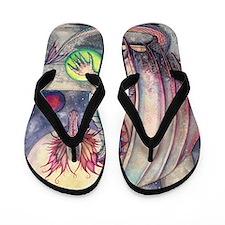 Dragons Perch Flip Flops