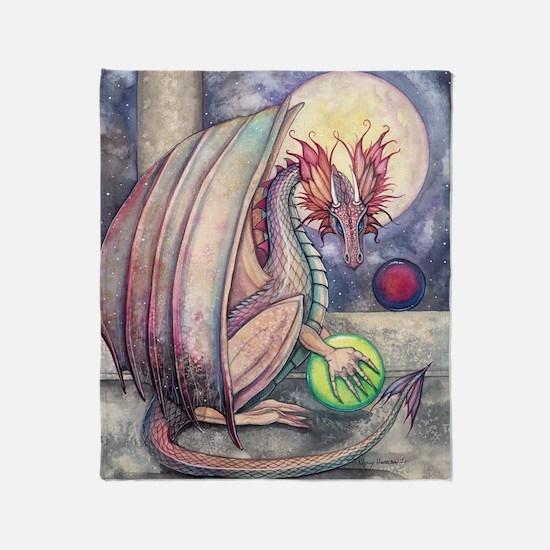 Dragons Perch Throw Blanket