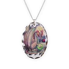 dragons perch transparent Necklace