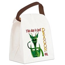 This day is just dragon on. Canvas Lunch Bag