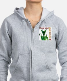 This day is just dragon on. Zip Hoodie