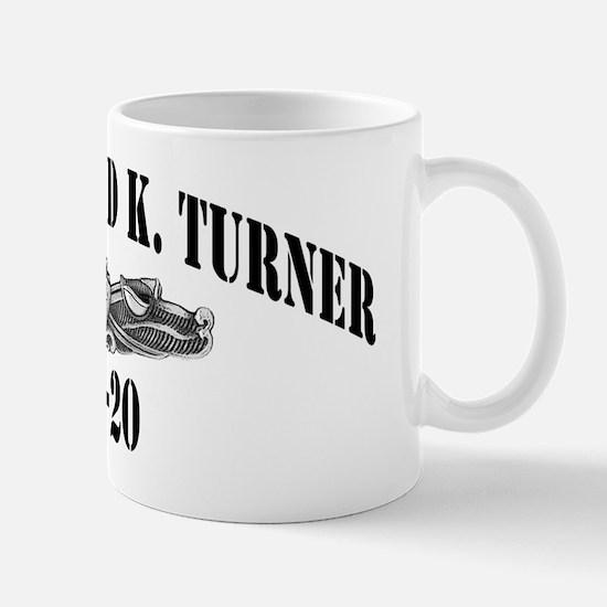 rkturner dlg black letters Mug