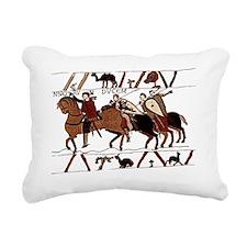 bayeux_tshirt Rectangular Canvas Pillow