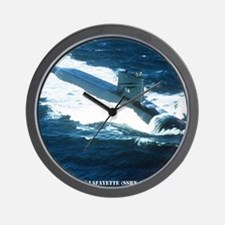 lafayette framed panel print Wall Clock