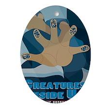 CreaturesInsideUs-7x10 Oval Ornament