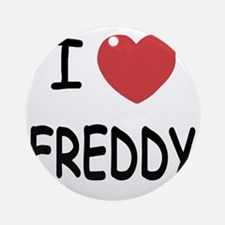 FREDDY Round Ornament