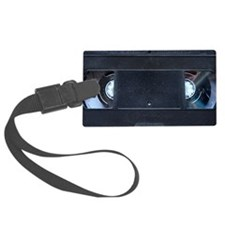 VHS TAPE Clutch Bag Luggage Tag