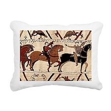 shoulderbag_front_bayeux Rectangular Canvas Pillow